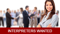 interpreters wanted